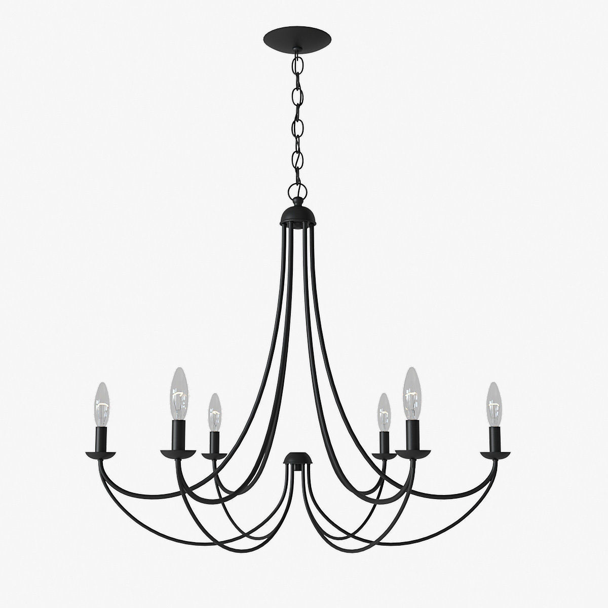 Quoizel Mirren 6-Light Chandelier