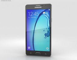 3D model Samsung Galaxy On5 Black