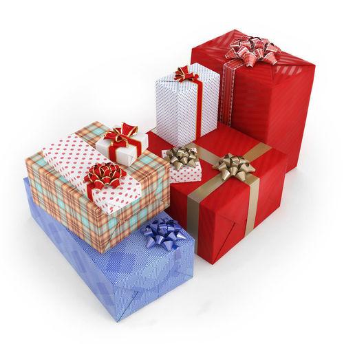 gifts in boxes 3d model max obj mtl fbx mat 1