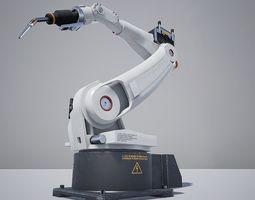 3D asset Welder Robot