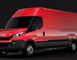 3D model Iveco Daily Van L4H2 2014 2016