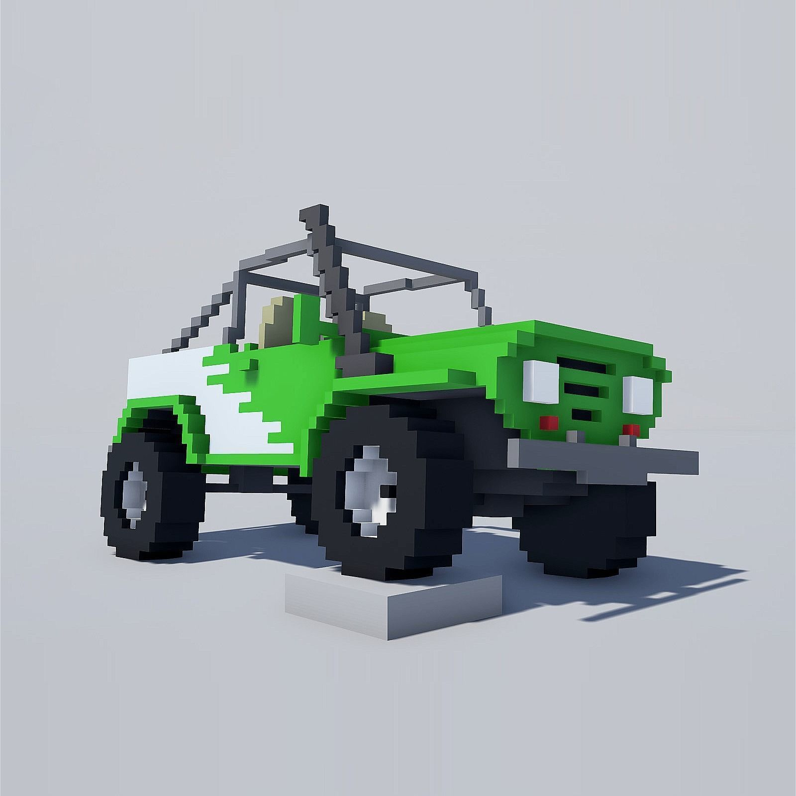 Voxel Cars pack