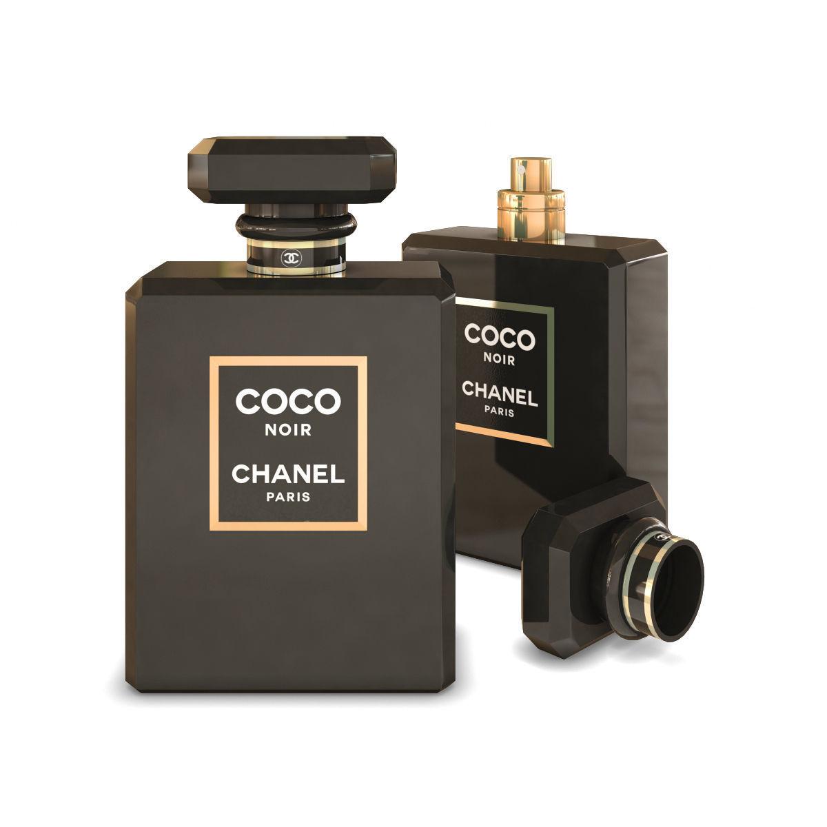 74d2c37a Chanel Coco Noir Perfume | 3D model