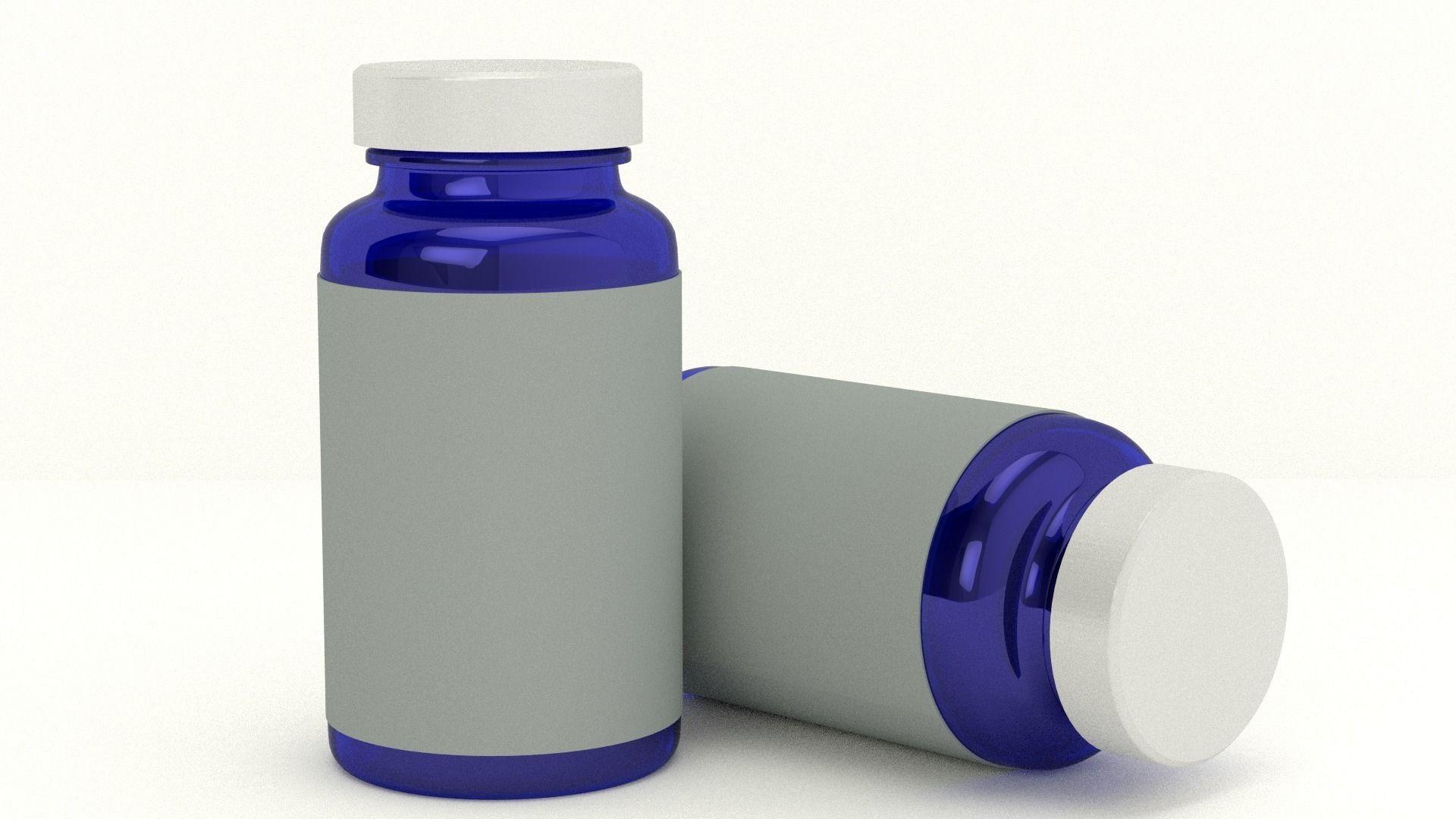 Interior Design Sofa Medicine Bottle 3d Model Obj 3ds Fbx Blend Mtl