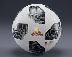 Telstar 18 - Adidas - Russia WorldCup-Official 3D model 2