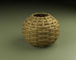 Woven Bowl 3D Model
