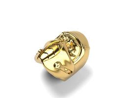 3D printable model Mortal Kombat Sub Zero mask ring 5