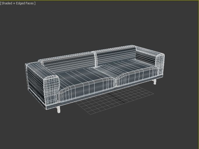 Muuto Rest Sofa : 3d muuto rest sofa larg cgtrader