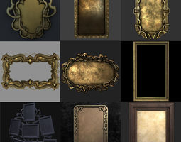 Picture Frame Collection 3D model