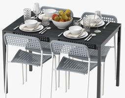 table cloth 3d models. Black Bedroom Furniture Sets. Home Design Ideas