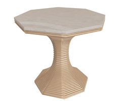 Table 3D model interior lee