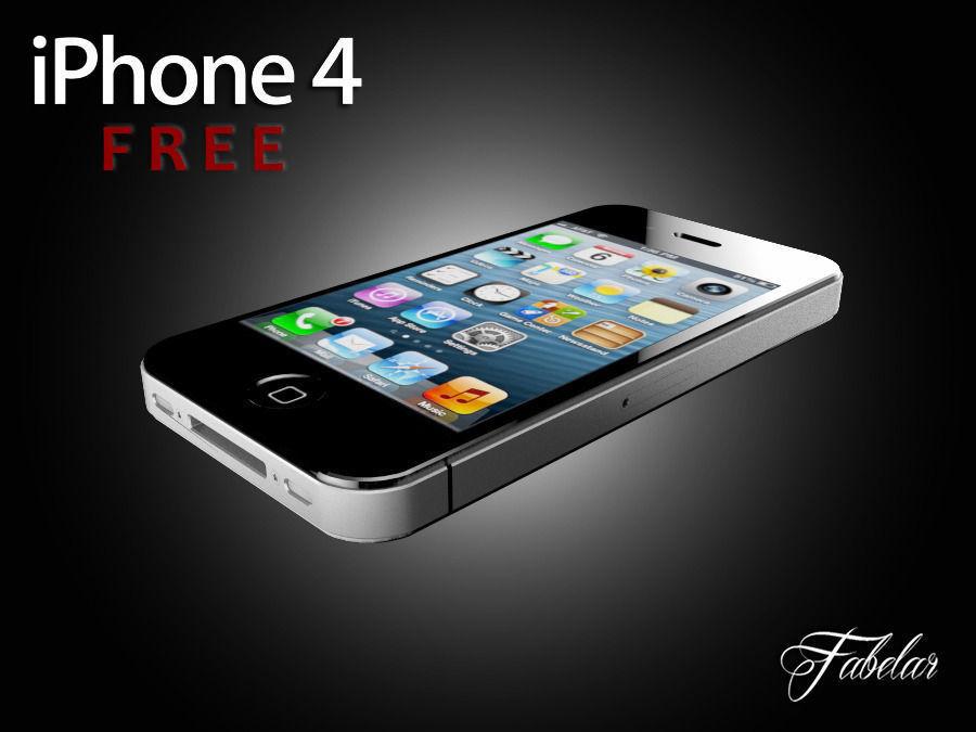 Iphone 4 Free Printable Free 3d Model 3d Printable Stl