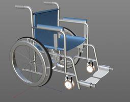 vehicle 3D model Wheel Chair