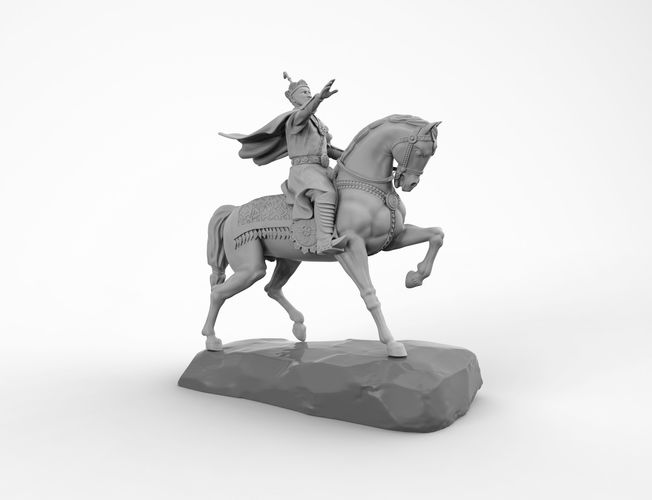 statue s001 3d model obj stl 3dm wrl wrz 1