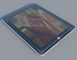 Apple iPad technology 3D model