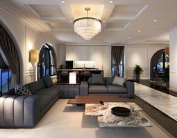 VCTT Livingroom O2 3D