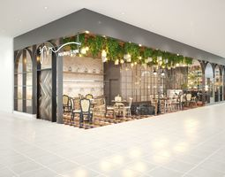 restaurant project 3D