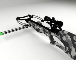 3D crossbow Crossbow