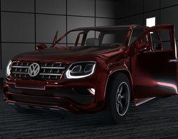 Volkswagen amarok 3D asset