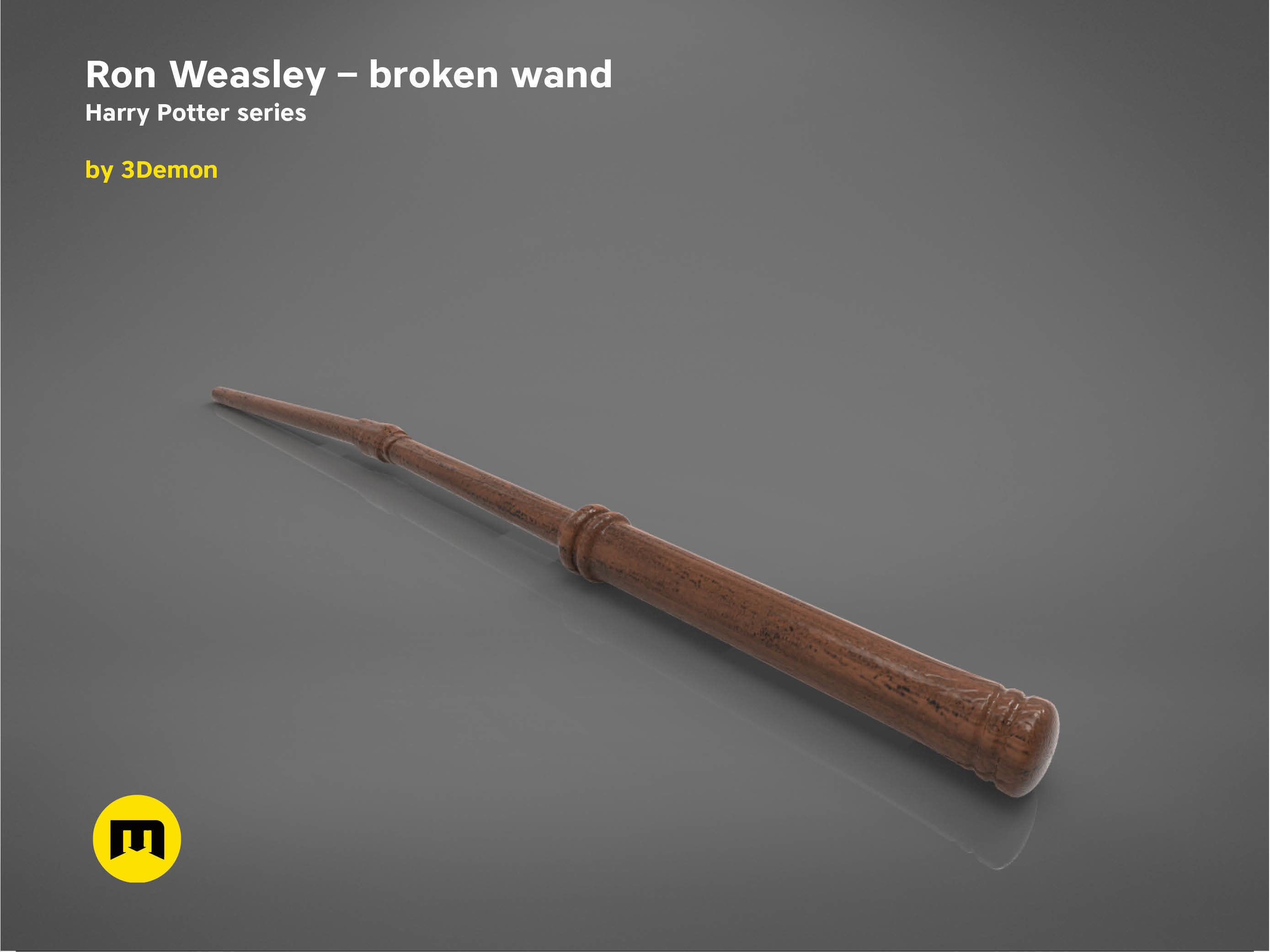 Ron Weasley broken wand - Harry Potter films