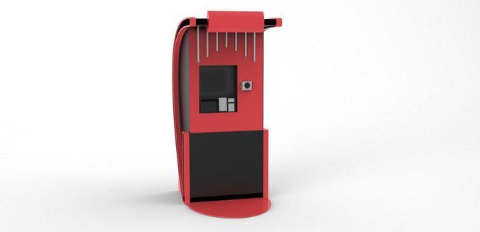 3d model of machine