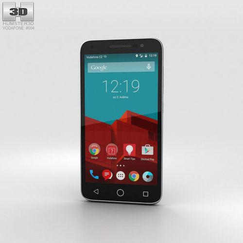vodafone smart prime 6 gray 3d model max obj mtl 3ds fbx c4d lwo lw lws 1