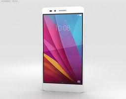 3D Huawei Honor 5X Silver