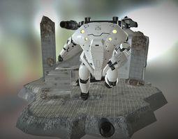 3D asset LOST PLANET ROBOT