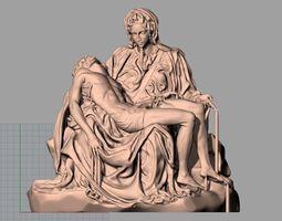 Christianity Jesus Christ Cappella della 3D print model 2