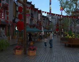 castle 3D model Commercial street