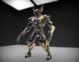 Battle Armor Wolverine Cosplay 3D print model