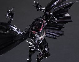 Tetsuya Nomura Batman Wearable Armor 3D print model