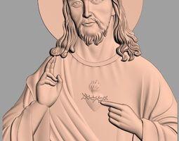 Christianity Jesus Christ Sacred Heart of Jesus Relief 1