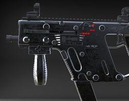 gun TDI Kriss Vector SMG 3D