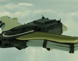 3D Space Ship mieren