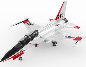 3D model KAI T-50 Golden Eagle