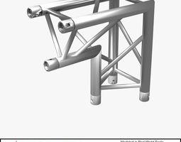 3D model Triangular Truss Corner Junction 107