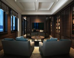 3D model VCTT lounge of bedroom
