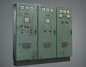 realtime ELECTRIC PANEL - LOW POLY GAME ASSET