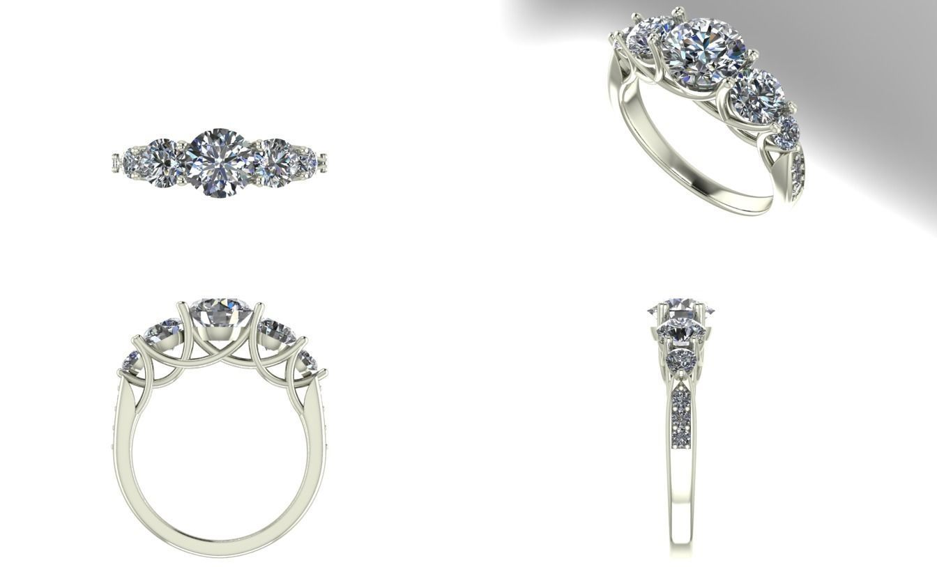 stone thomas rings white engagement diamond gold microset eternity jewellers ryan ring