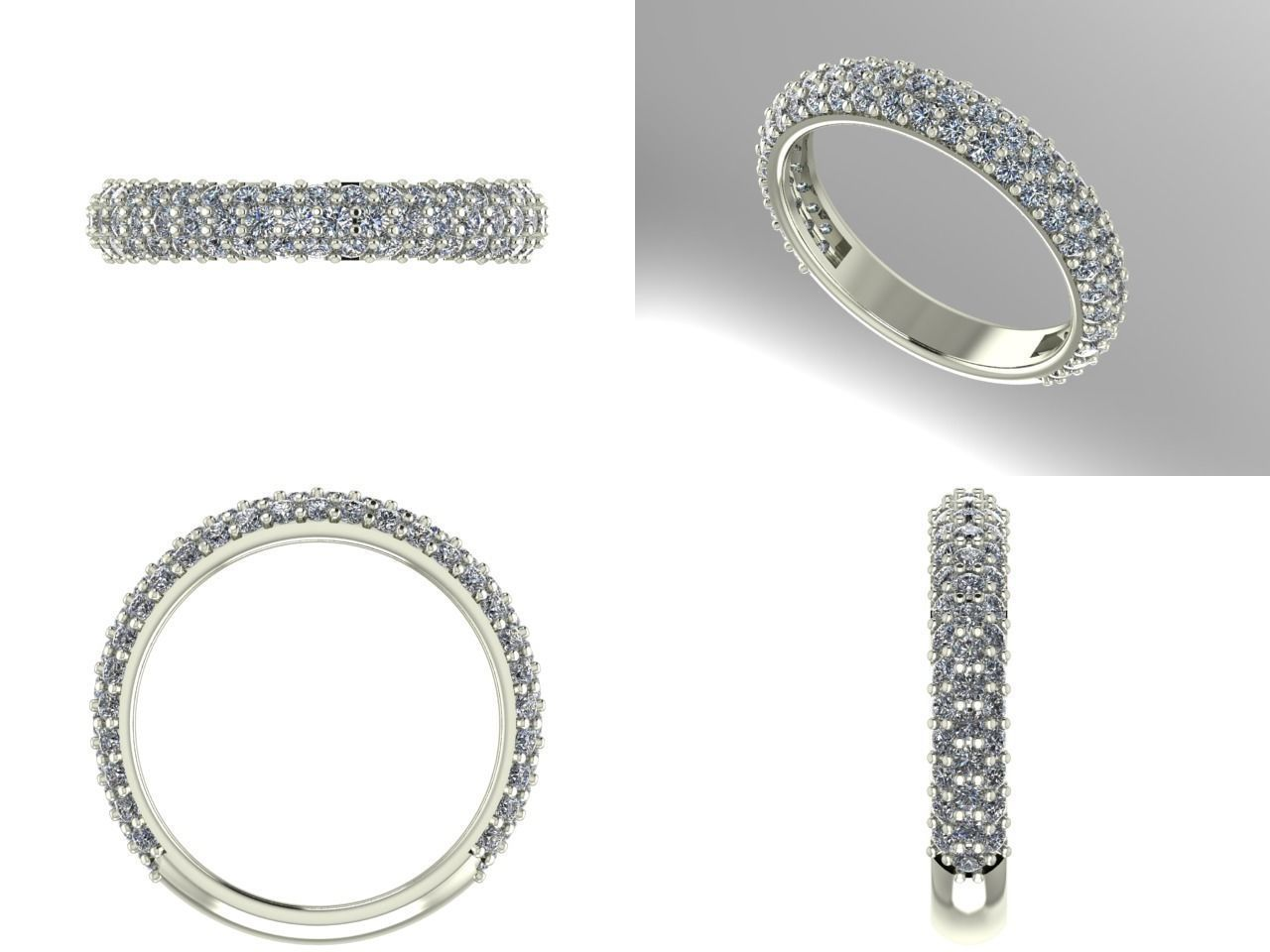 wedding product and bands band with pave milgrain design diamond eternity laurie