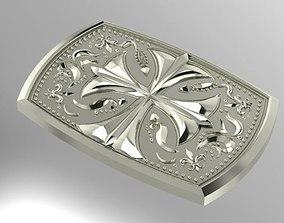 3D printable model belt buckle