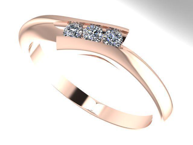 bypass diamond ring