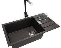furnishings 3D Franke Kitchen Sink