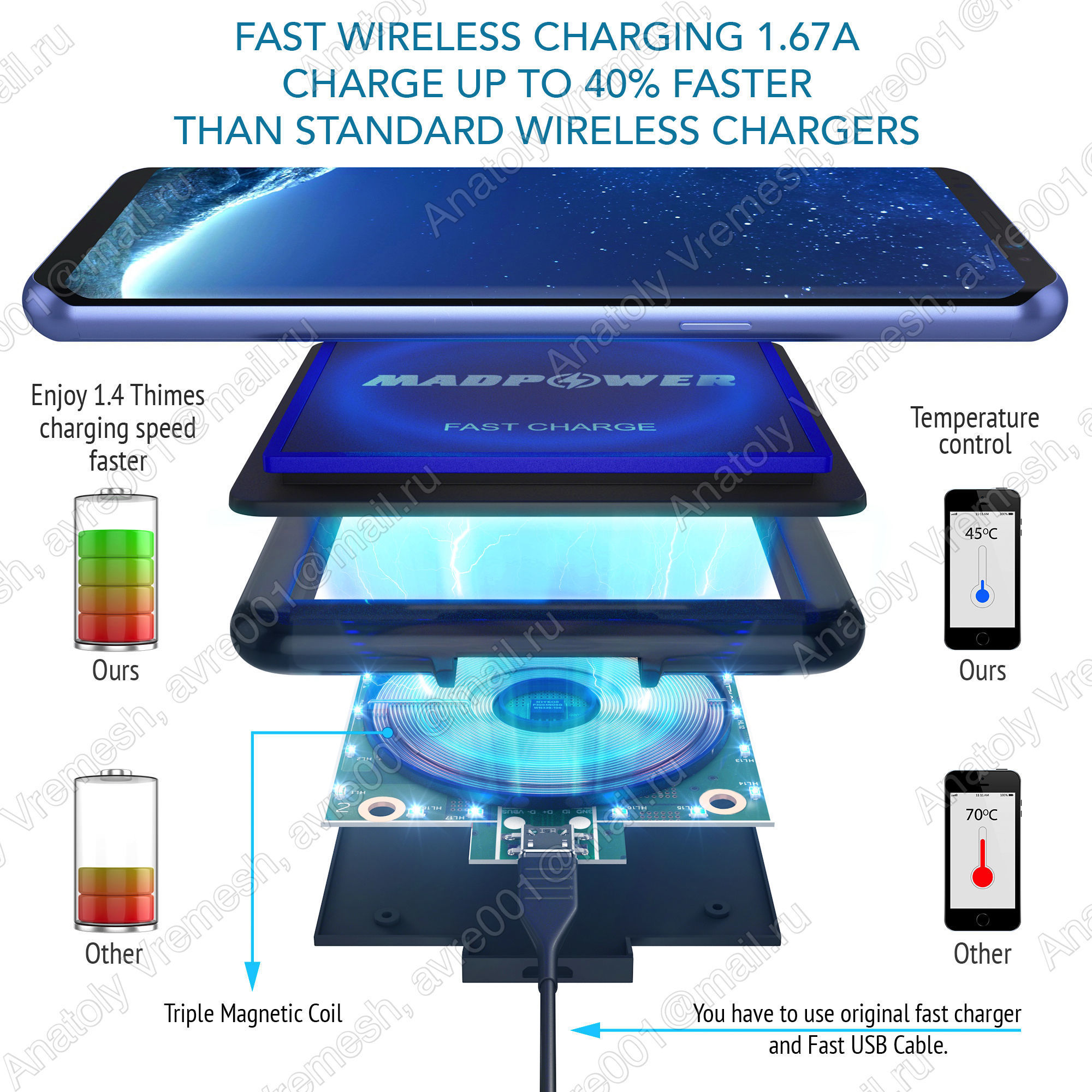 MadPower - wireless charger