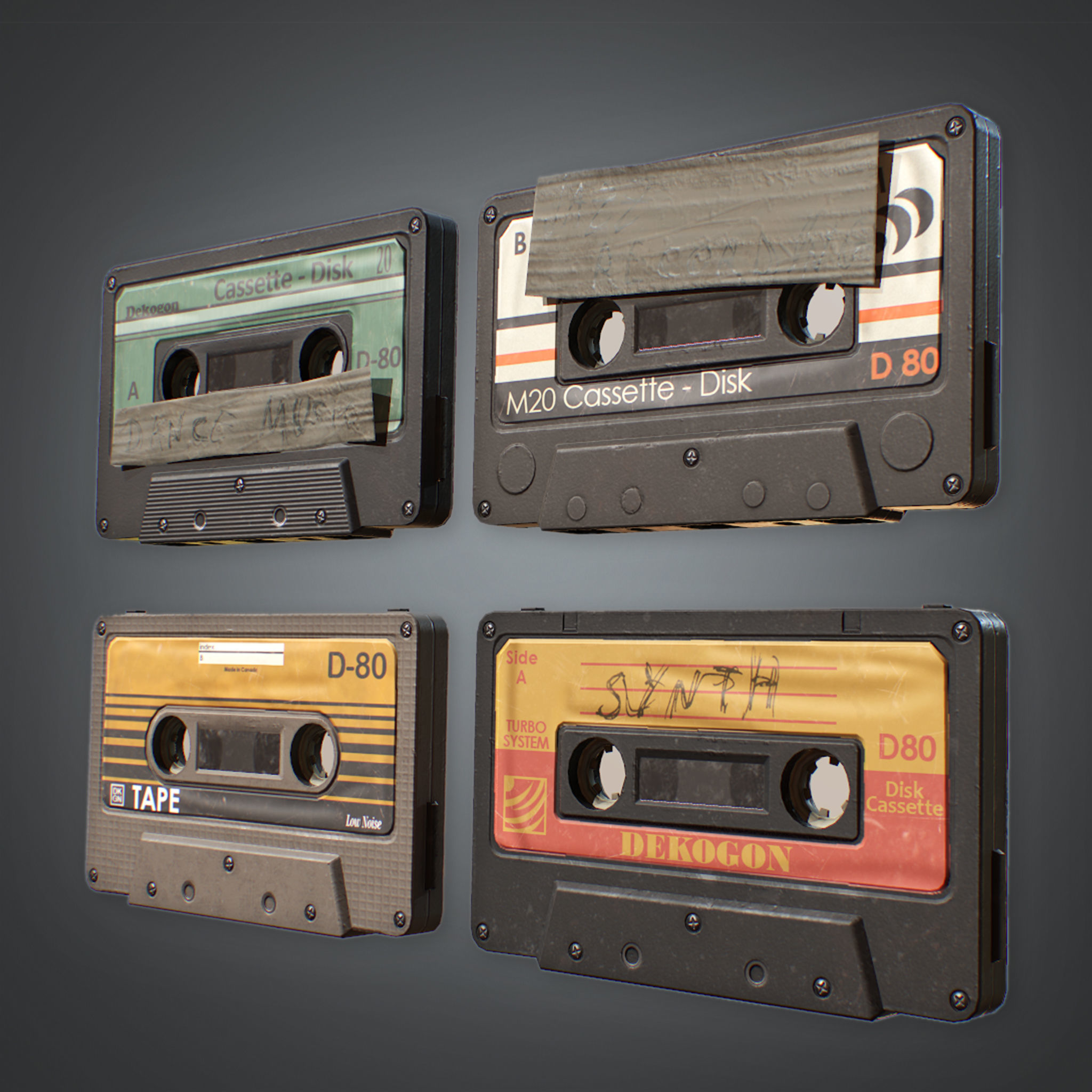 80s - Cassette Tapes