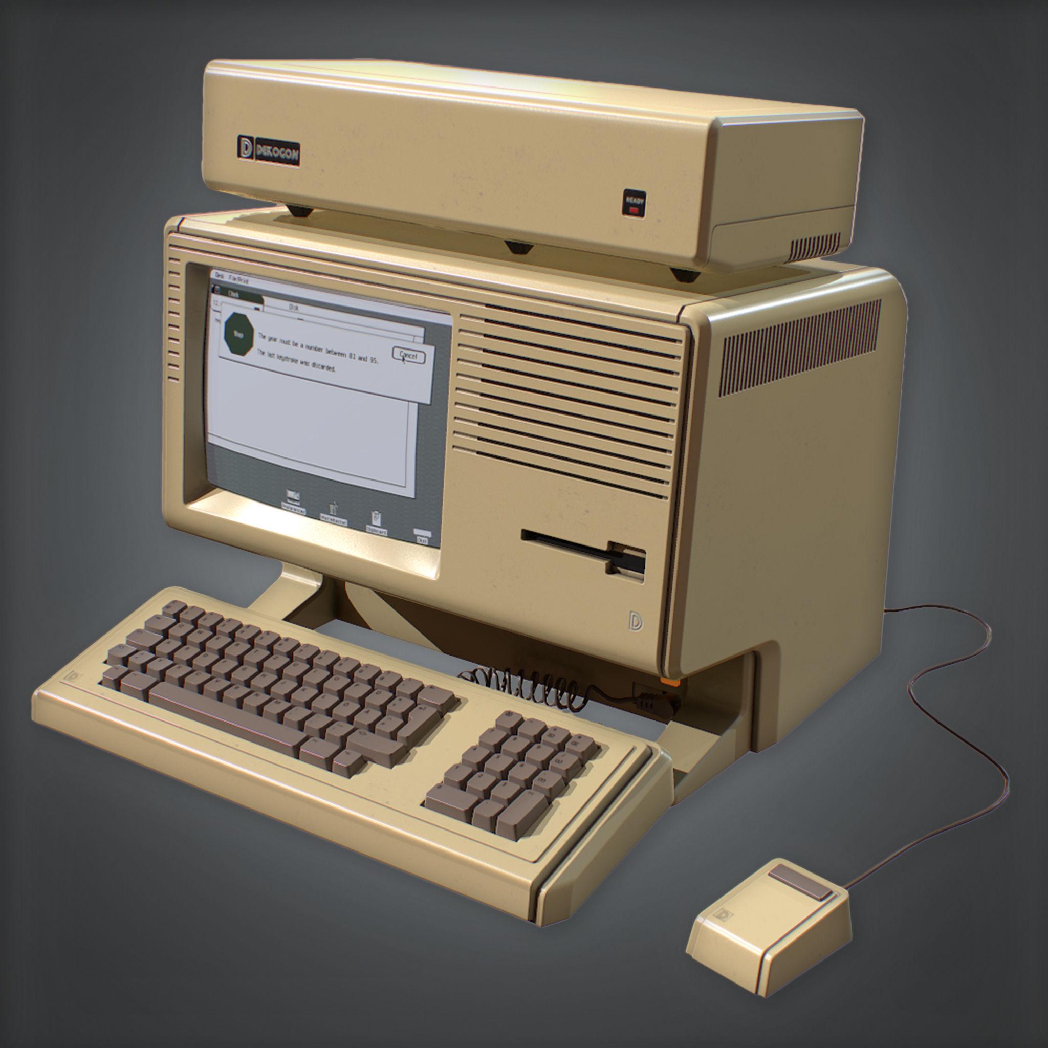 80s - Computer 03  Retro
