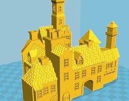 3D print model Medieval House 4