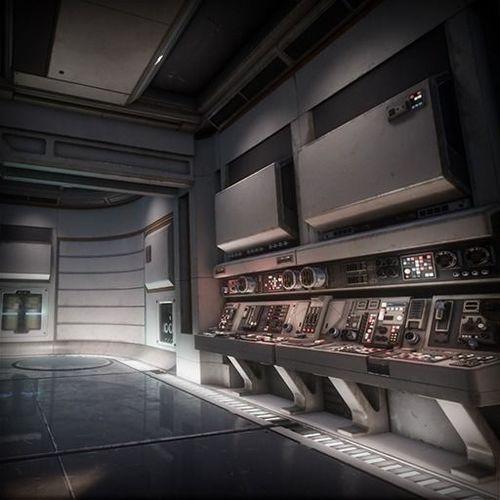 sci fi interior asset pack 1 3d model low-poly fbx tga uasset 1