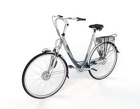 3D Gazelle Orange Bicycle model